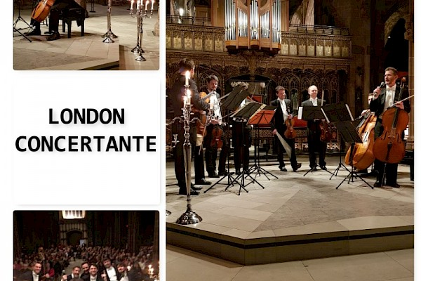 London Concertante by Candlelight- (Vivaldi Four Seasons Performance 1)