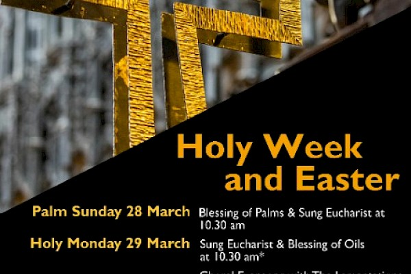 Services in Holy Week and Easter
